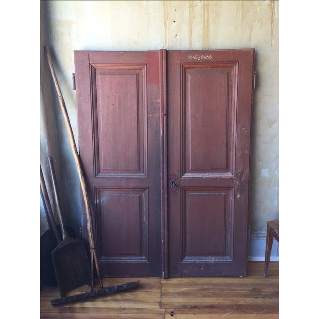 Italian Antique Cellar Doors For Sale In Kansas City - Image 6 of 9