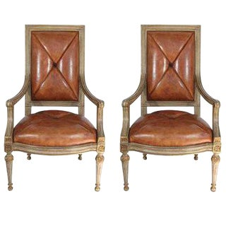 Vintage Hendrix Allardyce Arm Chairs - a Pair For Sale
