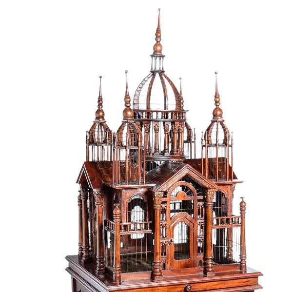 Architectural Bird Cage For Sale - Image 12 of 12