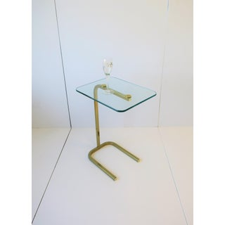 Brass and Glass Side or Drinks Table Preview