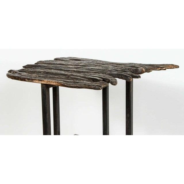 Paul Marra Paul Marra Cast Bronze Pod Table For Sale - Image 4 of 7