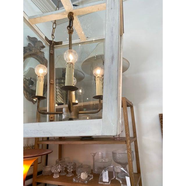 Coastal Julian Chichester Triangle Lantern For Sale - Image 3 of 6