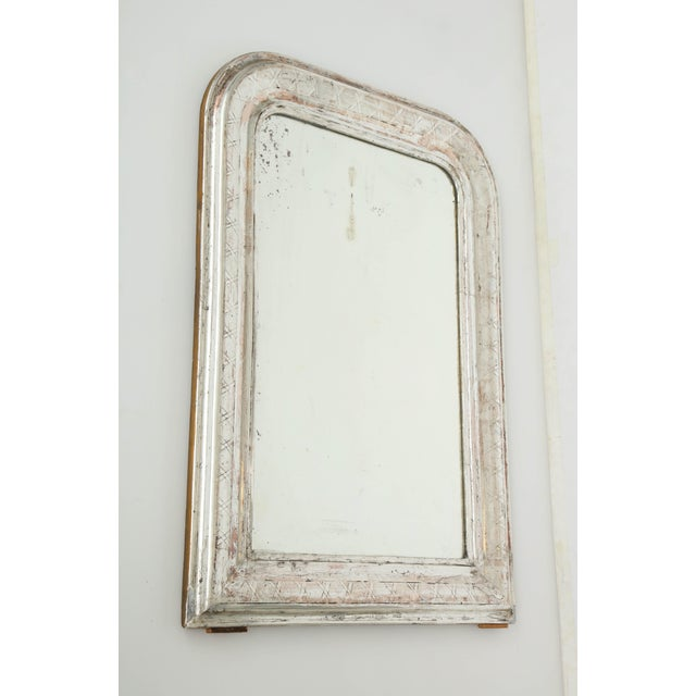 Louis Philippe Silvered Mirror For Sale In New York - Image 6 of 9