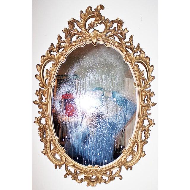 Vintage Rococo-Style Mirror - Image 2 of 6