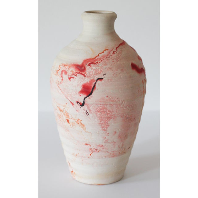 Vintage Nemadji Pottery Vase - Image 3 of 7