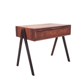 1960s Danish Modern Rosewood Accent Table