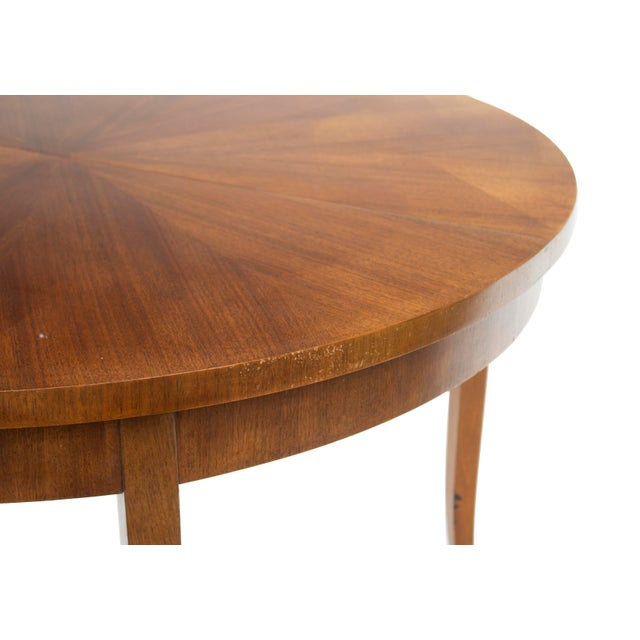 Round Dining Table by t.h. Robsjohn-Gibbings for Widdicomb, Model 4322 For Sale - Image 6 of 12