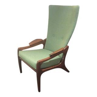 Adrian Pearsall Sculptural High Back Chair