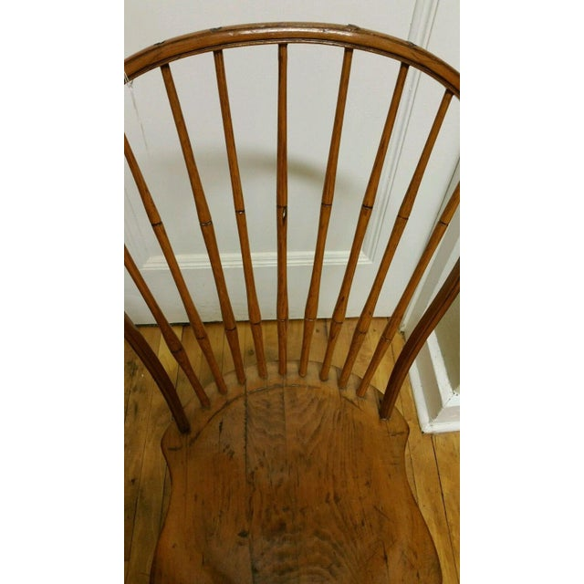 18th Century Ebenezer Tracy Windsor Chair For Sale - Image 4 of 8