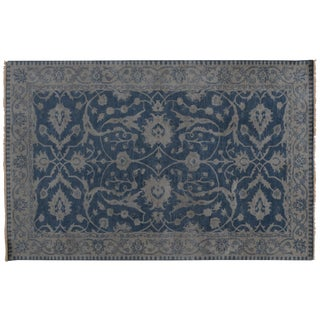 Stark Studio Rugs Traditional New Oriental 80% Wool/20% Cotton Rug - 6′ × 9′ For Sale