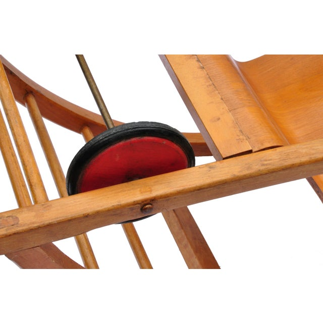 1950s Child Swing Cart, Germany, 1956 For Sale - Image 5 of 6