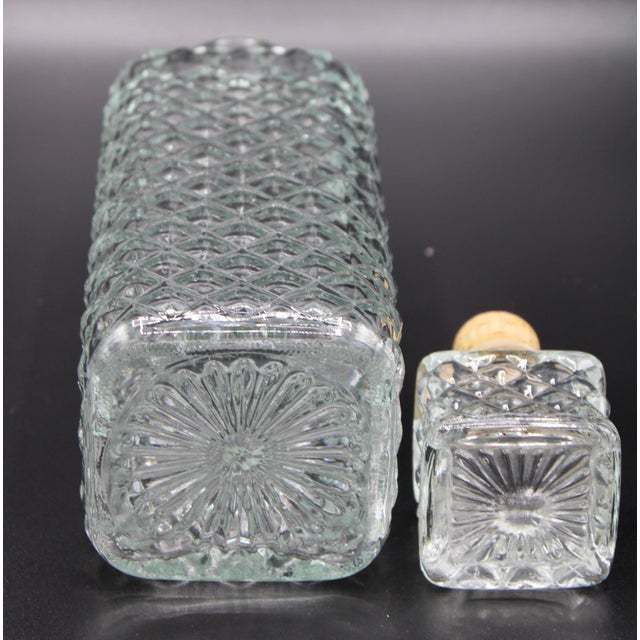 Antique English Crystal Decanter For Sale - Image 11 of 13