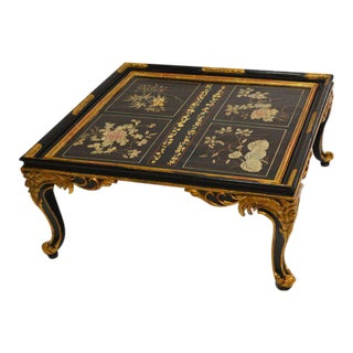 Maison Jansen Chinoiserie Coffee Table For Sale