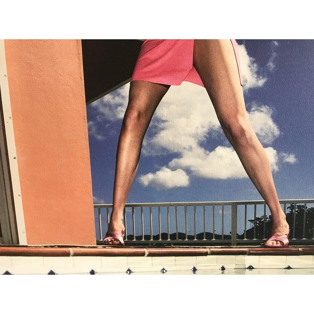 "Figurative Nicola Majocchi ""Umbrella With Legs"" Photograph 2003 St. John, v.i. For Sale - Image 3 of 6"