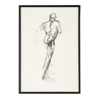 Male Figural Sketch From Amsterdam For Sale