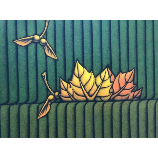 Kazuhisa Honda (born 1948) Park Mezzotint, image: 11 3/4 x 17 1/2 inches numbered 25 of 95