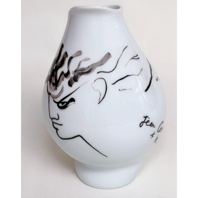 Rosenthal Germany Jean Cocteau for Classic Rose Rosenthal Group Vase For Sale - Image 4 of 11