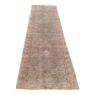 Antique Oushak Runner - 2′9″ × 10′5″