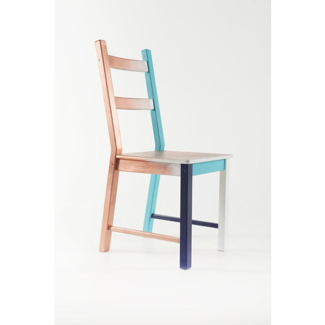 Misplaced, Hand-Painted Chair by Atelier Miru For Sale - Image 6 of 6