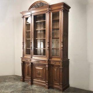 Grand 19th Century French Henri II Walnut Bookcase Preview