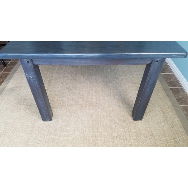 Farmhouse Pine Dining Table - Image 4 of 6
