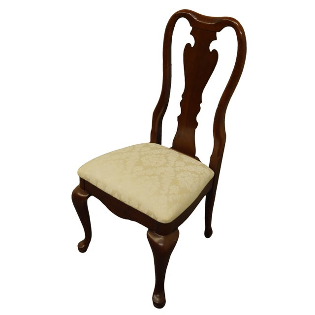 """THOMASVILLE FURNITURE Collectors Cherry Collection Dining Side Chair 10121-831-832 40"""" High 20.5"""" Wide 22"""" Deep Seat: 19""""..."""