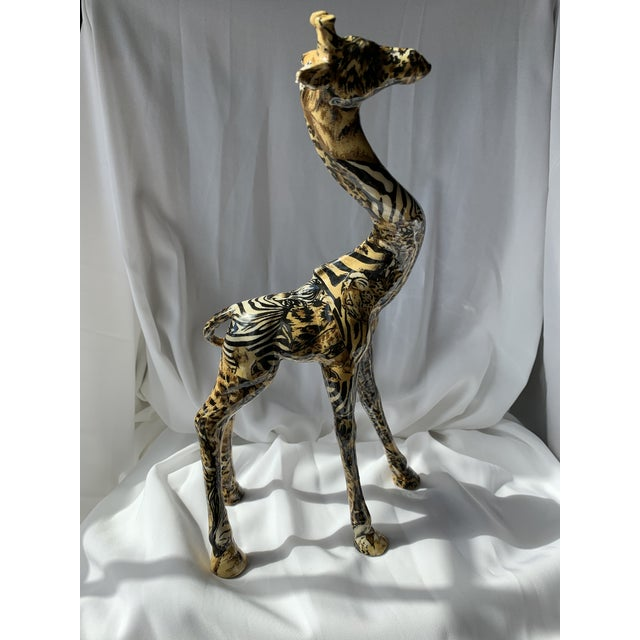 Art Deco Art Deco Giraffe For Sale - Image 3 of 6