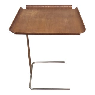 Danish Modern George Nelson Early Edition Side Tray Table For Sale