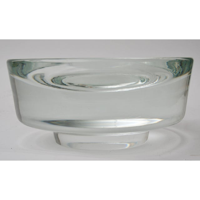 This stylish and chic and coveted piece of Venini Murano glass dish was designed by the iconic American designer Karl...