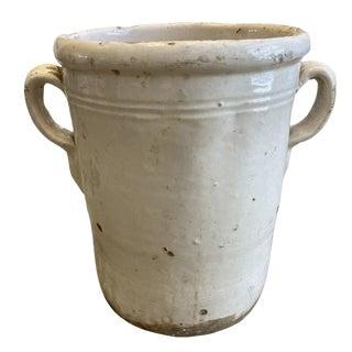 Italian Antique Confit Pot - Early 20th C For Sale