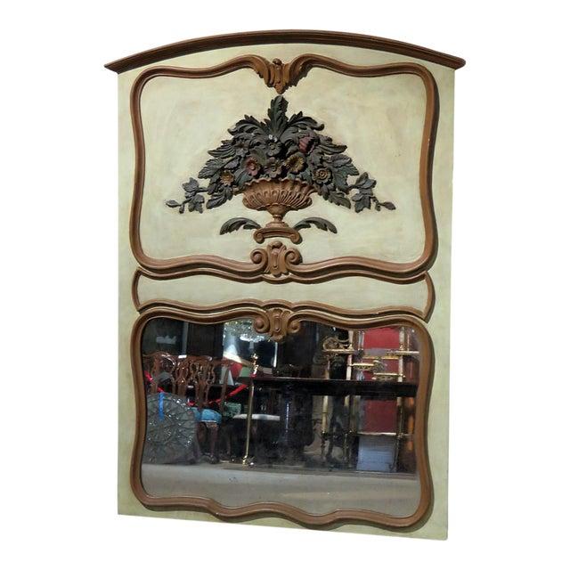 Italian Trumeau Wall Mirror For Sale