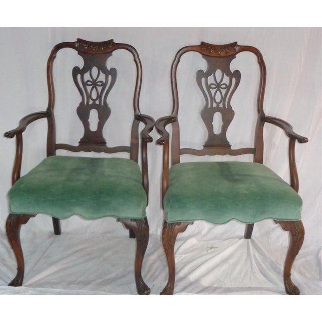 Batesville Mahogany Dining Chairs- Set of 6 - Image 7 of 11
