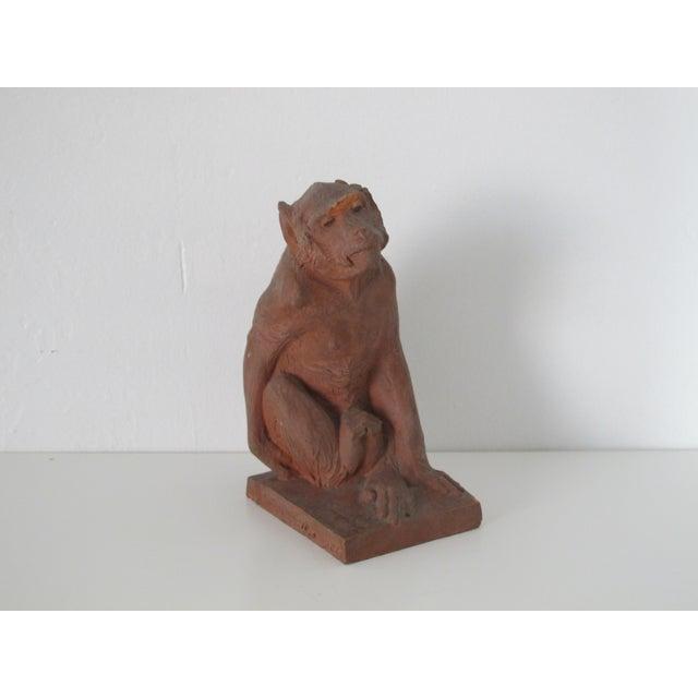 Terracotta Monkey - Image 2 of 7