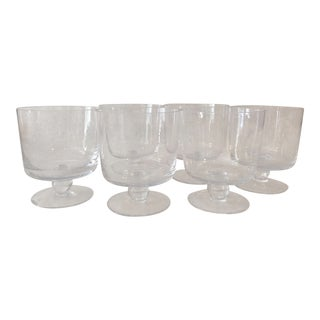 1970s Vintage Trifle Glasses- Set of 6 For Sale