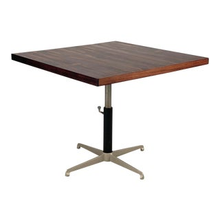 Vintage Danish Rosewood Adjustable Table For Sale
