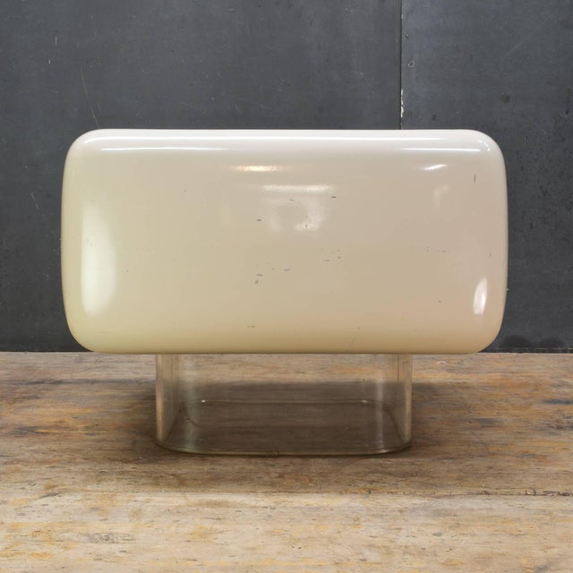 Steelcase Levitating Fiberglass Mushroom Table William Andrus Midcentury as Wendell Castle For Sale - Image 4 of 8
