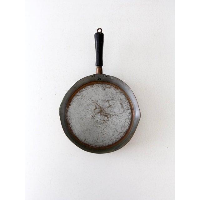 Vintage Revere Copper Skillet Pan For Sale - Image 6 of 9