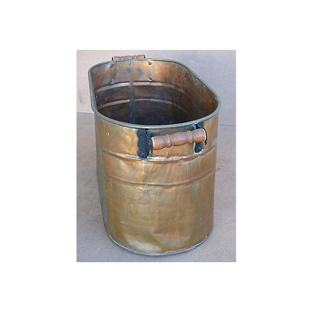 Antique Copper Bucket - Image 4 of 7