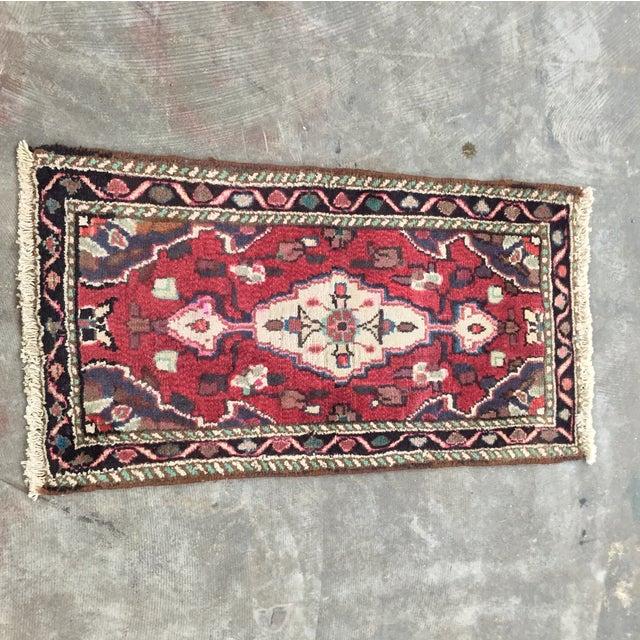 Hamadan Persian Rug - 1′6″ × 2′9″ - Image 2 of 9