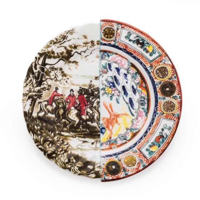 Contemporary Seletti, Eusapia Hybrid Dinner Plate, Set of Six, Ctrlzak, 2011/2016 For Sale - Image 3 of 3