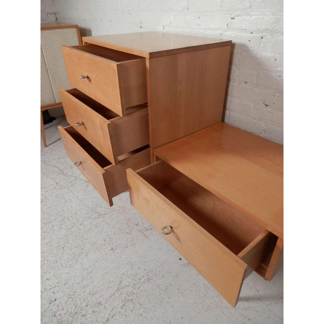 Paul McCobb Three-Piece Modular Mid-Century Modern Dresser For Sale In New York - Image 6 of 7