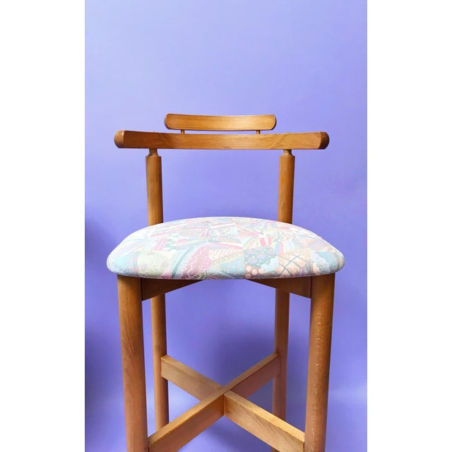1970s 1970s Danish Modern Gangso Møbler Stools - a Pair For Sale - Image 5 of 7