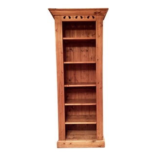 Old English Country Style Solid Pine Bookcase