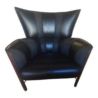 Pacific Green Palmwood Morea Club Chair