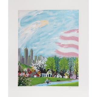 Kay Ameche, America, Screenprint For Sale