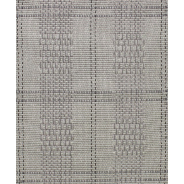 Stark Studio Rugs Contemporary Indian Flatweave Wool Rug - 6′ × 9′ For Sale