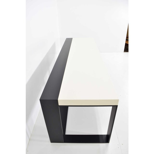 Christian Liaigre Connectable Leather Desk For Sale - Image 11 of 12