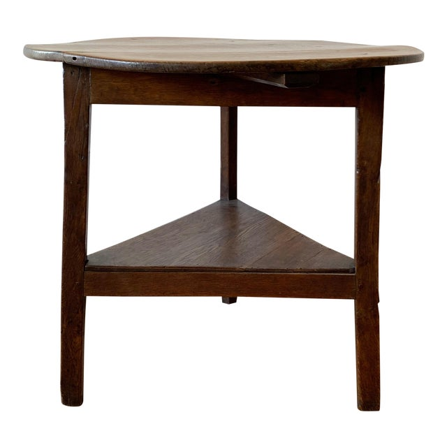 Antique French Farm Side Table For Sale