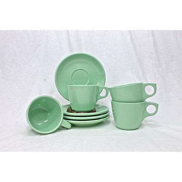 Vintage Boontonware Dinnerware - Set of 4 For Sale In Raleigh - Image 6 of 9