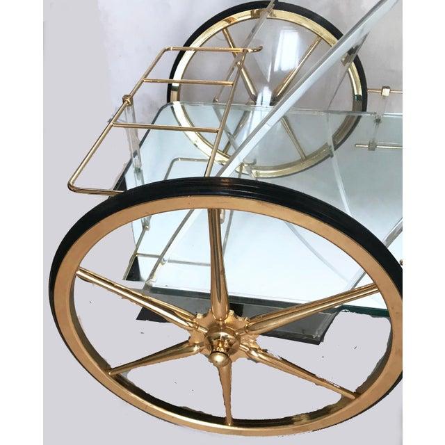 Maison Jansen Bar Cart - Image 4 of 5